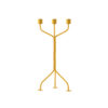 Twisted Candleholder Yellow